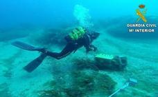 Hallan una bomba de la II Guerra Mundial frente a la isla de Tabarca