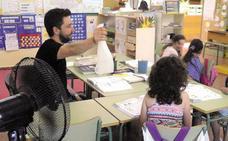 Los colegios podrán reducir su horario en cualquier mes por ola de calor