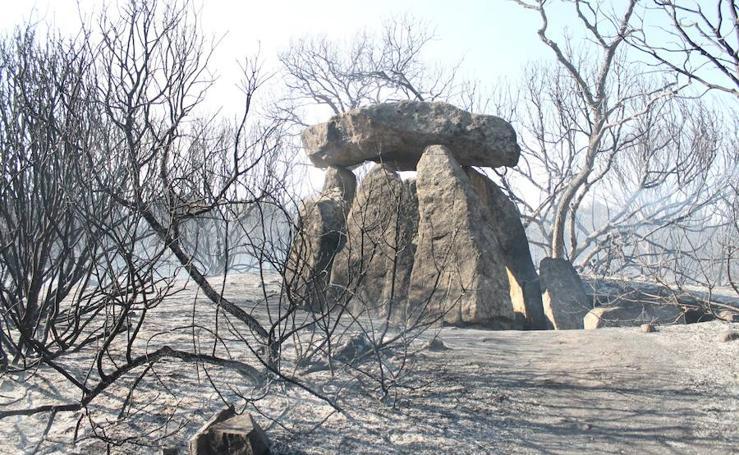 Nuevo incendio en la finca del Rebellao en Valverde de Leganés