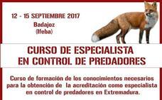 Ifeba acoge en septiembre un Curso de Especialista en control de predadores