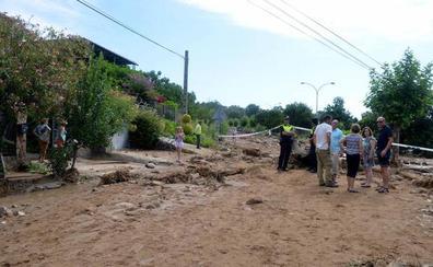 Piden a la Fiscalía que investigue la rotura de la balsa de agua de Valverde de la Vera