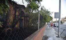 Incendio en la antigua Casa de las Aguas