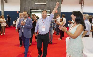 La reivindicación de un tren digno se cuela en la apertura del Congreso del PSOE