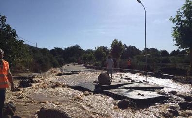 Destinan 750.000 euros a paliar los efectos de la rotura de la balsa de Valverde de la Vera