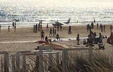Abren una investigación por el accidente mortal de avioneta en Caparica