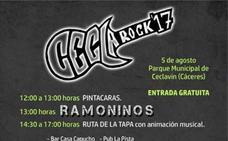 Ceclarock, más de siete horas de música en directo