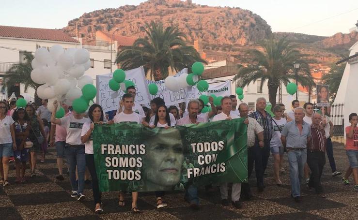 Hornachos recuerda a Francisca Cadenas al cumplirse tres meses de su desaparición