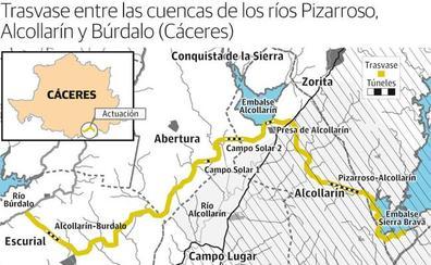 El Gobierno proyecta un trasvase para nuevos regadíos en la zona centro