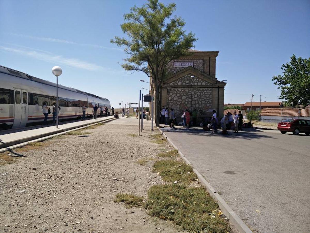 Parado un tren con destino a Extremadura