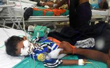 Mueren 64 niños en un hospital de la India por falta de oxígeno