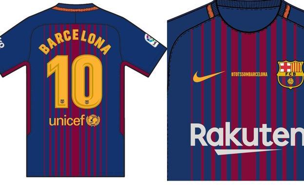 El Barça llevará camisetas especiales ante Betis en recuerdo a las víctimas 21577c9ed8325