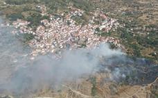 El Infoex desactiva el nivel 1 de peligrosidad por el incendio en Eljas