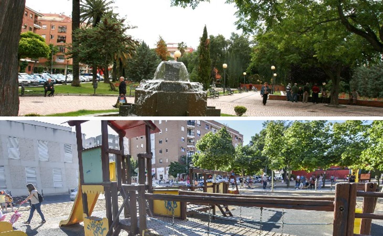 Los diez lugares más refrescantes de Badajoz