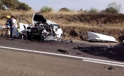 El fallecido en el accidente de la N-430 era un comercial navarro de 32 años