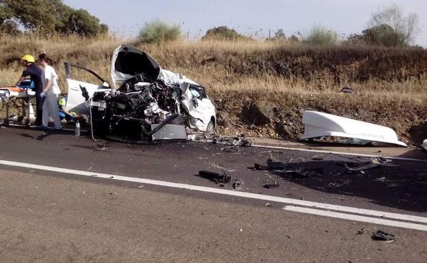 El Fallecido En El Accidente De La N 430 Era Un Comercial Navarro De
