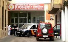 Investigan una carta enviada a la UNED de Mérida que contenía polvo amarillo
