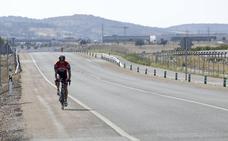 La ruta segura a Talavera resulta insuficiente para los ciclistas