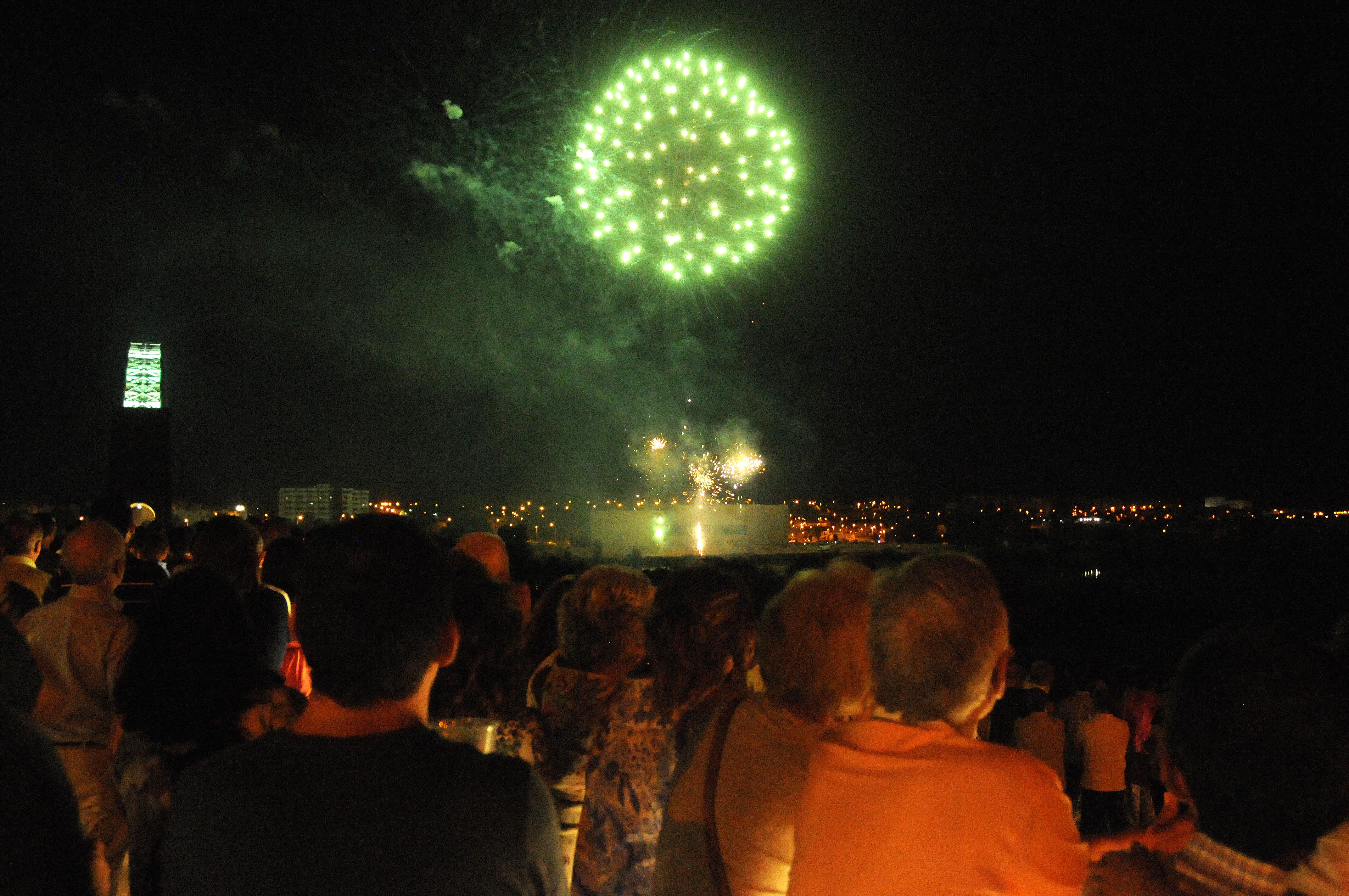Los fuegos artifiales dieron fin a la Feria de Mérida
