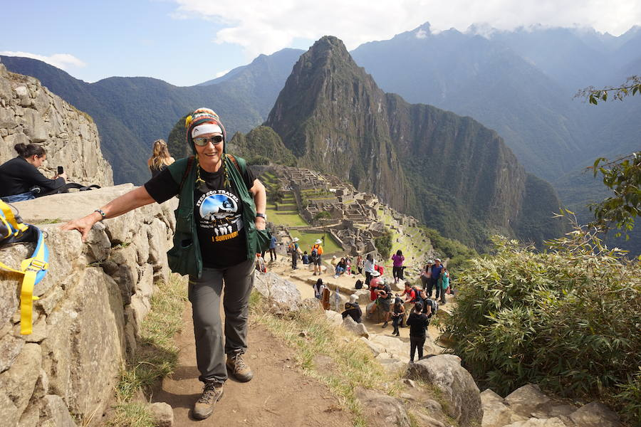 Françoise Brun, una aventurera incansable a los 74 años