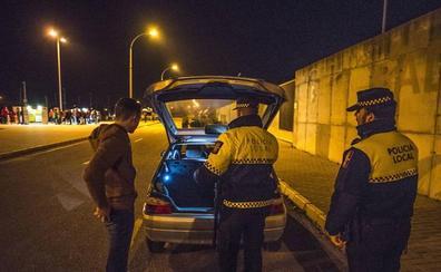Más controles para evitar botellones en zonas no autorizadas de Badajoz