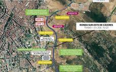 Nuevo paso en los proyectos de la Ronda Sur de Badajoz y Sureste Cáceres