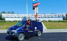 En furgoneta por la Rusia más salvaje