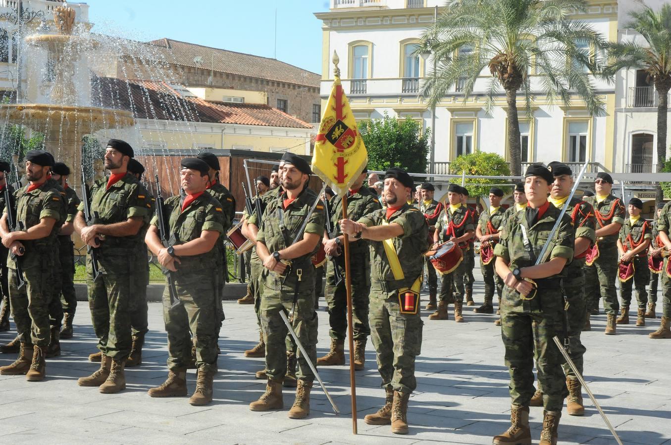 Unos 700 militares de la BRIMZ Extremadura XI estarán en misiones exteriores