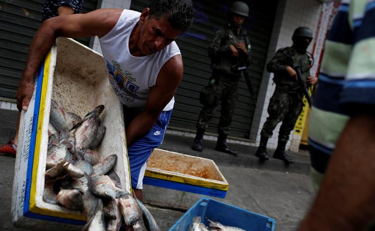 Enfrentamientos entre bandas de narcotraficantes en Río de Janeiro