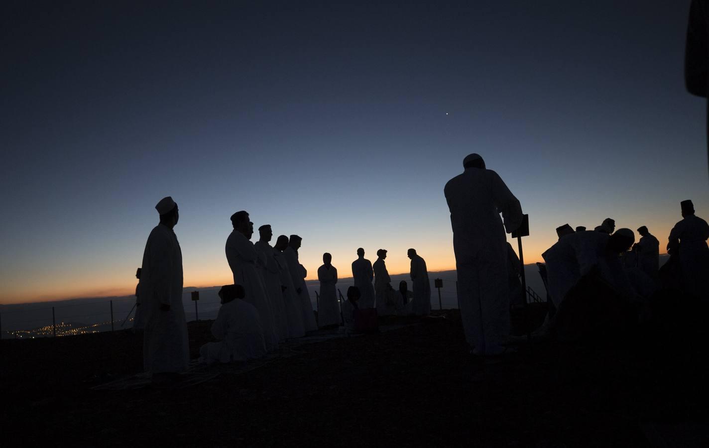 Samaritanos celebran el Sukot
