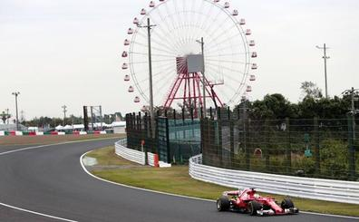 Vettel y Hamilton se reparten los honores en la primera jornada