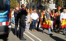 Selfies con los policías, red de telefonía saturada... así fue la marcha