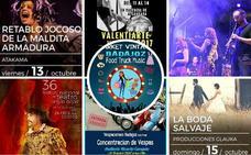 Música, teatro y arte urbano para gozar del fin de semana