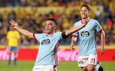 Iago Aspas y el Celta aplastan al Las Palmas