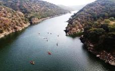 Buena acogida del II Descenso en Kayak por el río Tajo