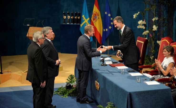 Ceremonia de entrega de los Princesa de Asturias