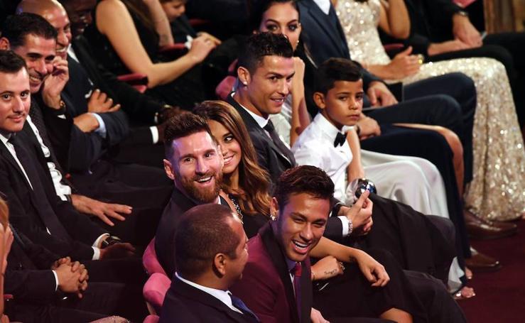 Las mejores fotos de la gala de la FIFA