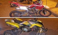 Intervienen dos minimotos y un quad que hicieron carreras ilegales en las Vaguadas