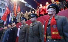 Rusia conmemora con discreción el centenario de la Revolución de Octubre
