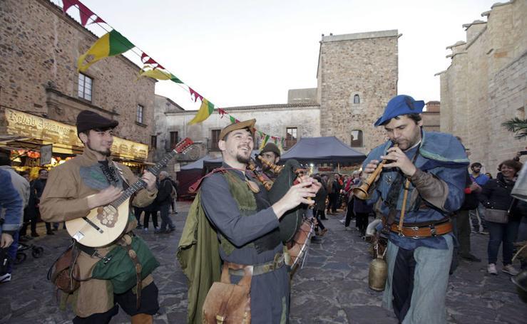 Arranca el Mercado Medieval de las Tres Culturas en Cáceres