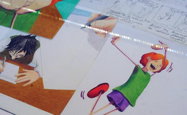 'Pluma, papel y tijeras'
