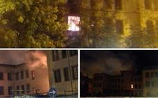 Nuevo incendio en los pabellones militares de Plasencia