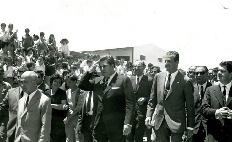 Fotos históricas de HOY, en una exposición en Badajoz