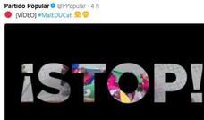 El PP difunde en redes sociales un vídeo para denunciar el adoctrinamiento en las aulas de Cataluña