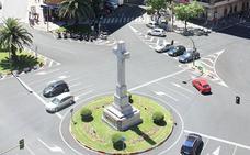 Herido un motorista en un accidente en Cáceres