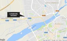 Herido grave en Badajoz tras caerle una reja encima