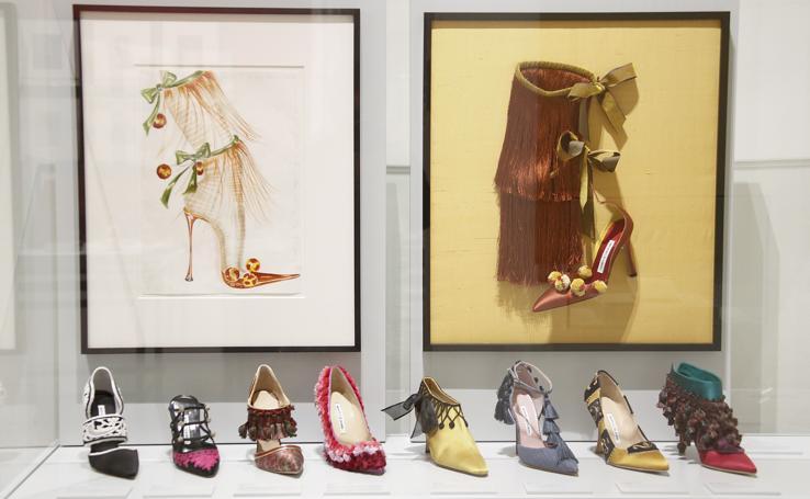 Manolo Blahník, el dibujante de zapatos