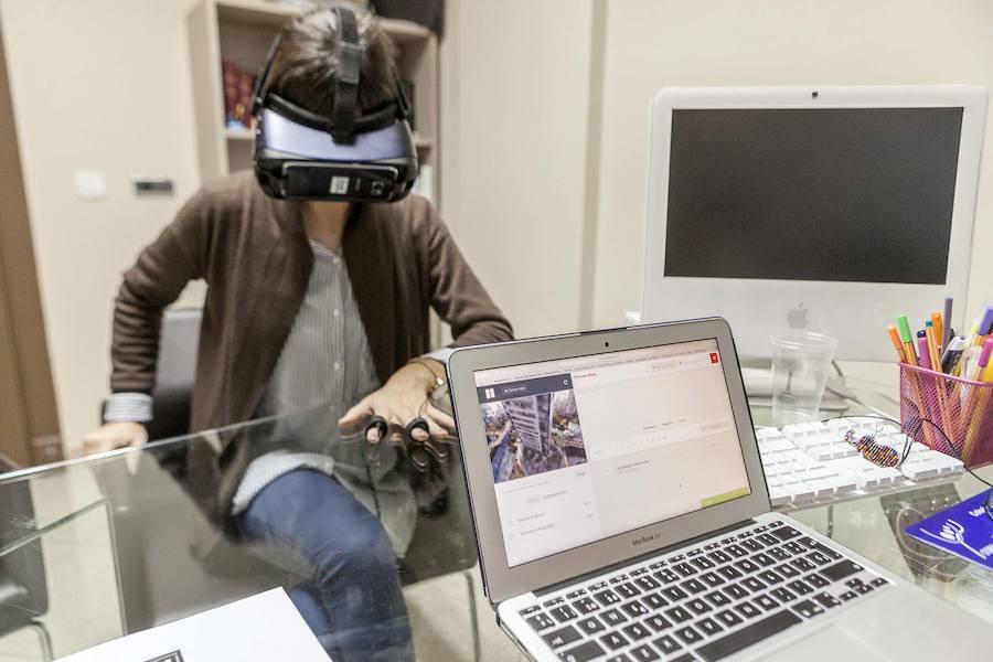 Realidad virtual aplicada a las terapias psicológicas