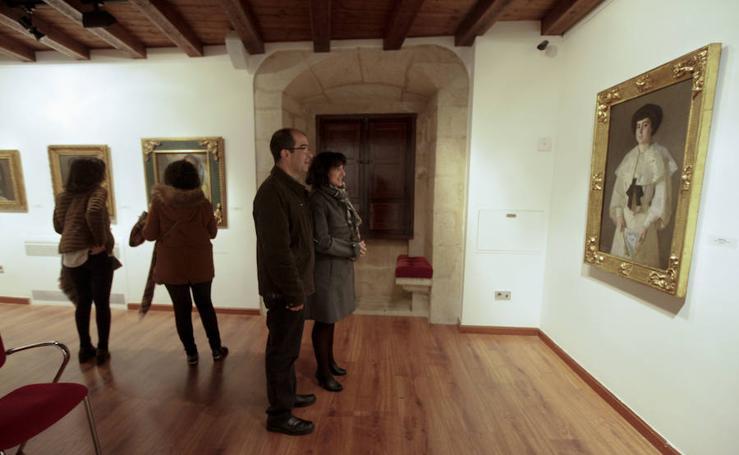 Exposición de Mercedes Calle de 45 obras nunca exhibidas