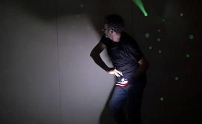 Performance multimedia de Javier Flores, este viernes en el Museo Vostell