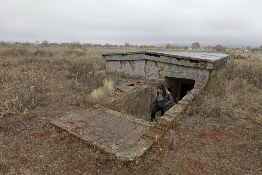 Refugios antiaéreos en Cáceres
